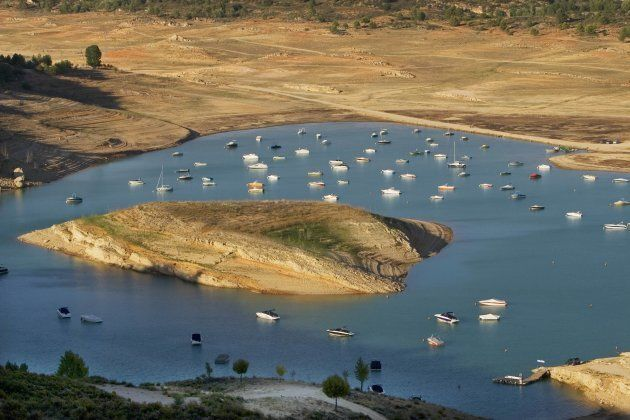 Pantano de Entrepeñas, conocido como el Mar de