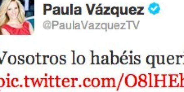 Twitter de Paula Vázquez: publica por error datos personales y difunde fotos de los mensajes recibidos