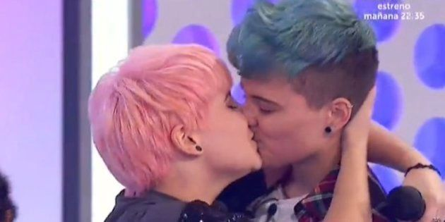 El beso de Marina y su novio: el día que TVE hizo historia sin