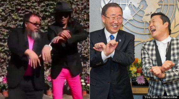 El baile del caballo: de Ai Weiwei a Ban Ki-moon, parodias por todo el mundo (FOTOS, VÍDEOS,