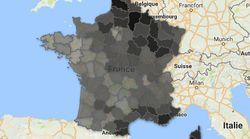 ¿Dónde obtuvo Marine Le Pen sus mejores