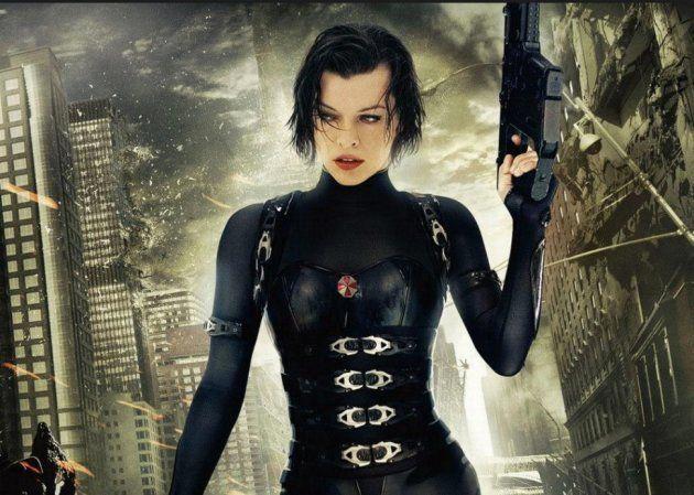 Alice Abernathy encarnada por Mila Jovovich en 'Resident