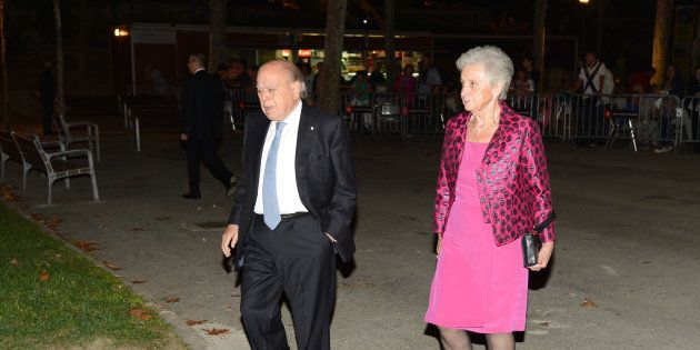 Jordi Pujol y Marta