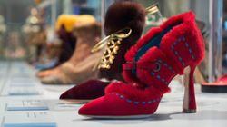 Los 212 zapatos que pisan fuerte en la exposición de Manolo Blahnik en