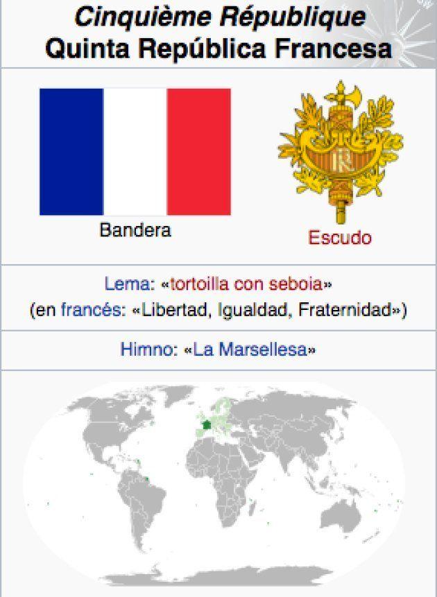 El Troleo Masivo De España A Francia En La Wikipedia El Huffpost