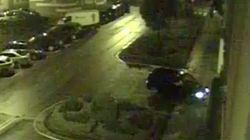 Un conductor borracho aparca en el garaje de la Policía creyendo que era un parking