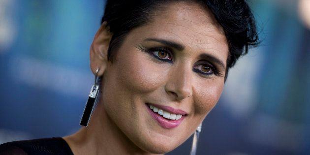 La cantante Rosa López, fotografiada el 10 de septiembre de 2017 en