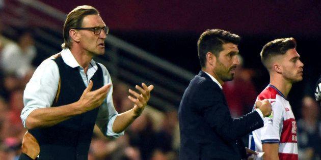 El entrenador del Granada, Tony