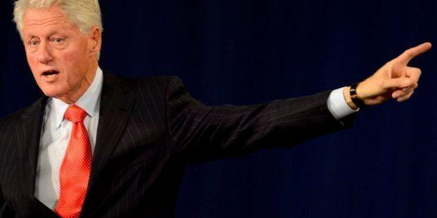Barack Obama suspende su campaña por el huracán Sandy y Bill Clinton le sustituye como