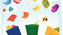 Los contenedores de reciclaje están de
