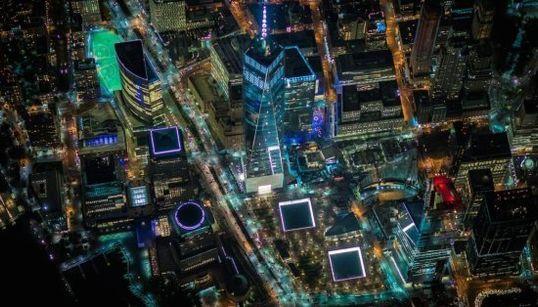 Nueva York parece de mentira en estas fotos aéreas