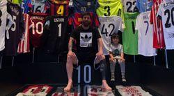 Messi muestra el particular 'museo' que tiene en