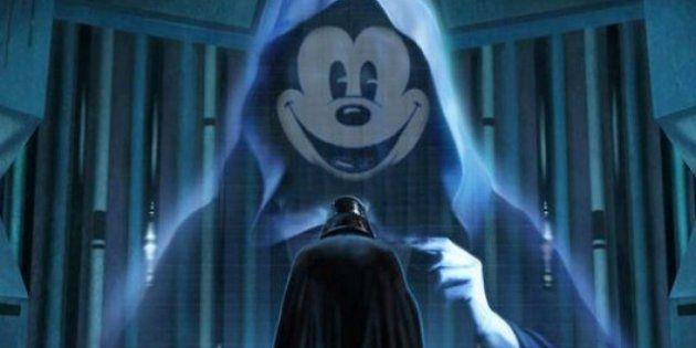 Imperio Disney vs Lucasfilm: su alianza, en montajes de los fans