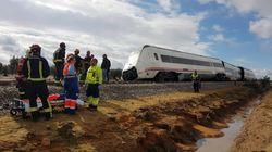 Varios heridos tras descarrilar un tren entre Málaga y