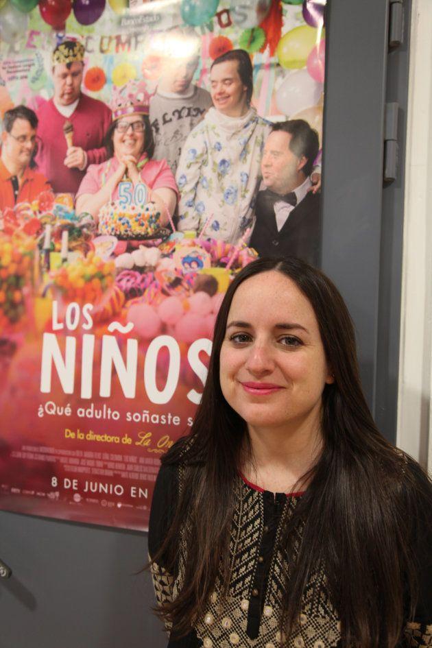 Maite Alberdi en las instalaciones de Morada Films, en el madrileño barrio de
