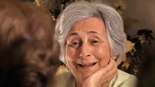 La abuela de Maite, una de las protagonistas del documental 'La Once', en un fotograma de la
