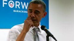 Obama llora al felicitar a su equipo por la victoria (VÍDEO,