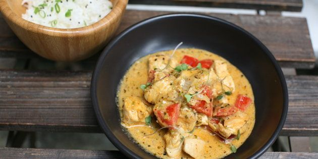 Mi versión de pollo al curry
