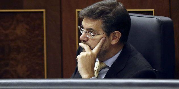 El ministro de Justicia, Rafael Catalá, en una imagen de archivo tomada en el