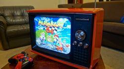 Así se transforma una vieja televisión en una consola portátil