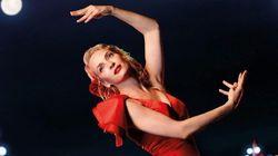 Uma Thurman, flamenca