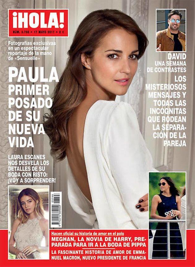 La portada de Paula Echevarría en '¡Hola!' del 17 de