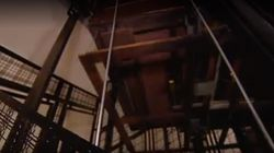 Así es el ascensor en el que murieron dos jóvenes en