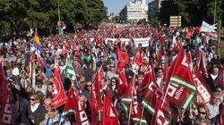 La CEOE cree que la manifestación de Madrid fue un éxito y la huelga un