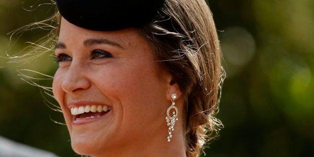 Pippa Middleton en un boda en junio de