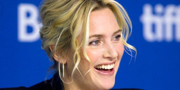 Kate Winslet en el Festival de Toronto de