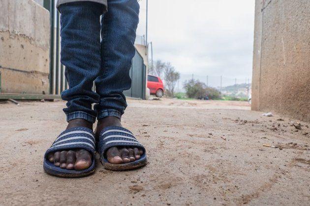 No hay calzado apropiado para los niños tutelados de La