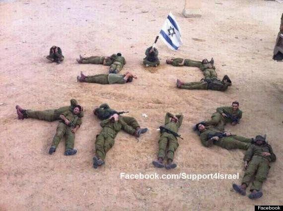 Investigan una foto de soldados israelíes criticando la tregua: