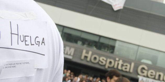 Huelga sanitaria en Madrid: La Comunidad cifra el seguimiento en el 26%; los sindicatos en el