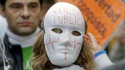 Cuatro 'mareas' se unen en Madrid en defensa de los servicios