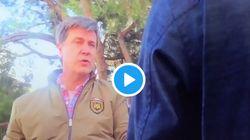 El tenso enfrentamiento entre Cayetano de Alba y unos reporteros de