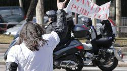 Cientos de moteros en Madrid en defensa de la sanidad