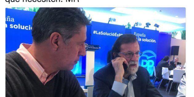 Rajoy telefonea a una familia cuya casa fue incendiada por colgar una bandera de