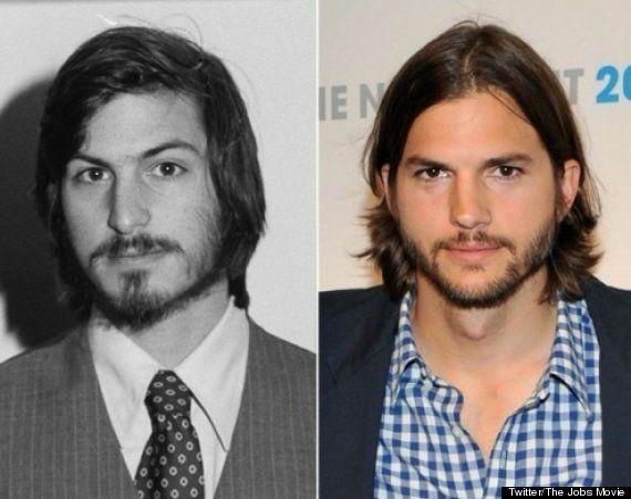 Steve Jobs-Ashton Kutcher: la alucinante caracterización en jOBS