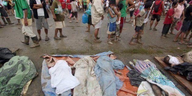 El tifón 'Bopha' deja al menos 238 muertos a su paso por Filipinas