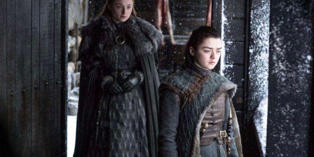 Maisie Williams, Arya Stark en 'Juego de Tronos', comparte una foto de su primer día de