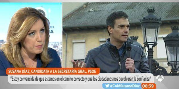 Dardo de Susana Díaz a Pedro Sánchez: