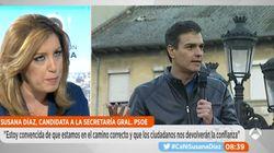 Dardo de Susana Díaz a Pedro Sánchez por su postura sobre