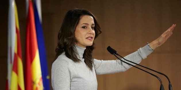 Inés Arrimadas, candidata de