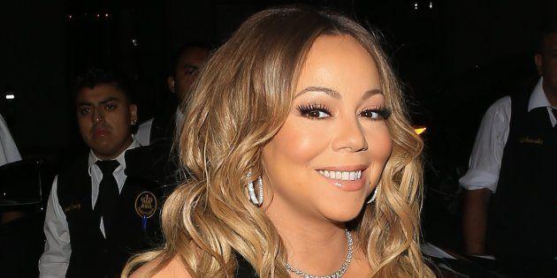Mariah Carey maravilla a internet con su misteriosa silla