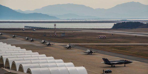 Estados Unidos y Corea del Sur lanzan su mayor ejercicio aéreo