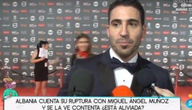 Incredulidad por cómo rotularon a Miguel Ángel Silvestre en un programa de