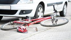 Una conductora borracha atropella a seis ciclistas en