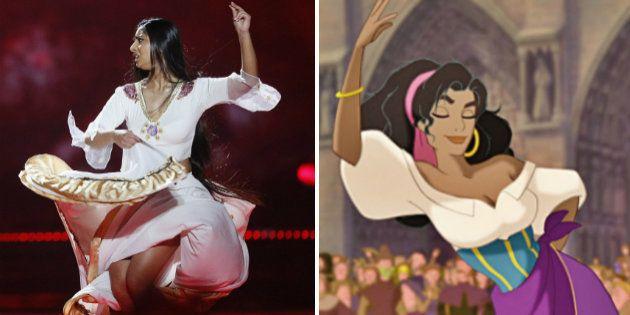 Los parecidos razonables de Eurovisión