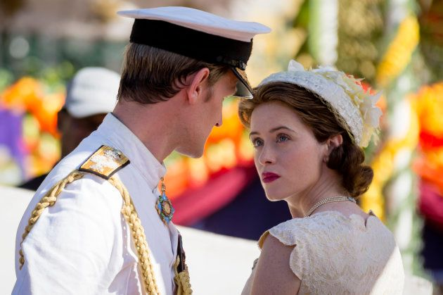 Isabel II y Felipe de Edimburgo (Matt Smith y Claire Foy) en la segunda temporada de 'The
