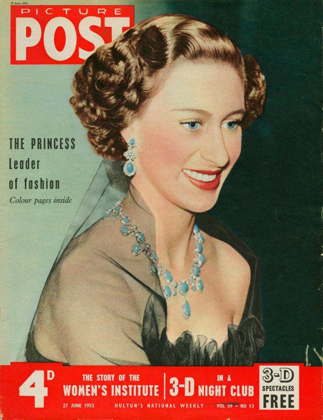La princesa Margarita en la portada de una revista en junio de